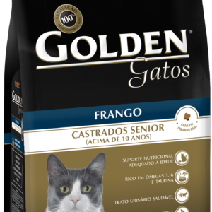 GOLDEN GATOS CASTRADOS SÊNIOR SABOR FRANGO