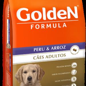 GOLDEN FORMULA CÃES ADULTOS PERU & ARROZ