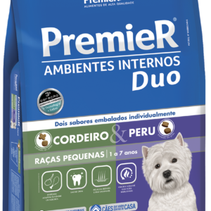 PremieR Ambientes Internos Duo Adultos – Cordeiro e Peru