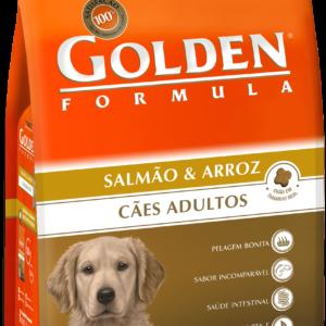 GOLDEN FORMULA CÃES ADULTOS SALMÃO & ARROZ