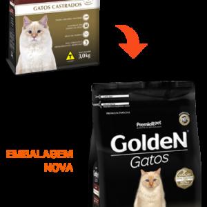 GOLDEN GATOS CASTRADOS SABOR CARNE