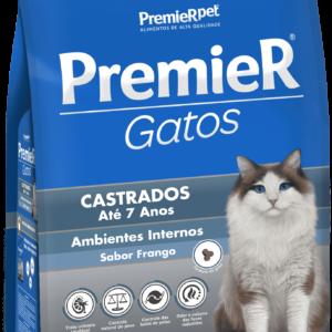 PREMIER GATOS CASTRADOS ATÉ 7 ANOS – FRANGO