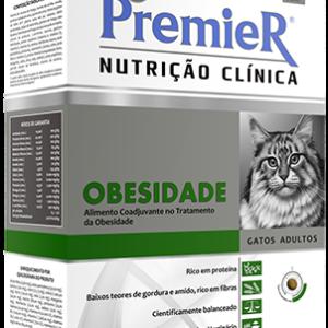 PREMIER NUTRIÇÃO CLÍNICA OBESIDADE GATOS