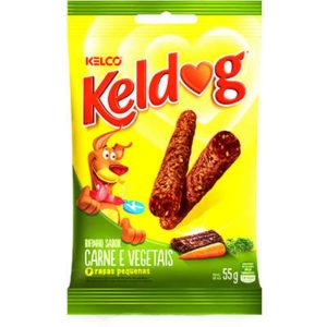 Bifinho Kelco Keldog Raças Pequenas Carne e Vegetais