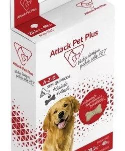 Attack Cães E Gatos 20,1 A 40 Kg ( Antipulgas E Carrapatos)  DESCRIÇÃO