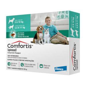 Antipulgas Elanco Comfortis 560 mg – Cães de 9 a 18Kg e Gatos de 5,5 a 11Kg