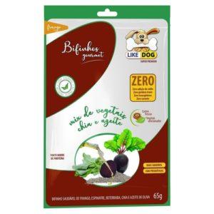 Bifinho Like Dog Sabor Frango Com Vegetais 65g